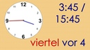 Deutsch Wortschatz 7: Uhrzeit