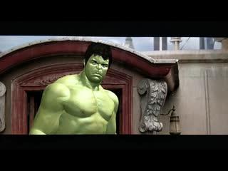 Халк и Древняя - Мстители 4 (альтернативная сцена)