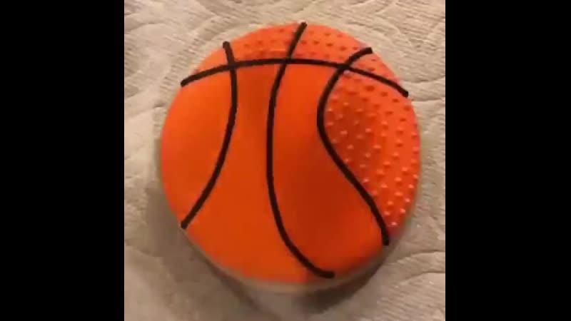 Печенье Баскетбольный мяч 🏀