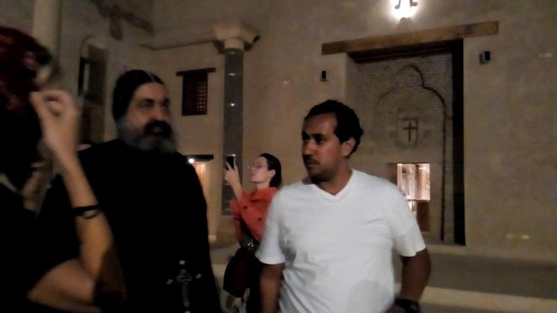 Вечер в Красном монастыре Сохог Египет