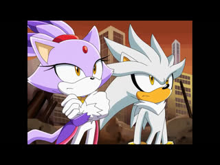 Blaze the cat and silver the hedgehog   sonic x