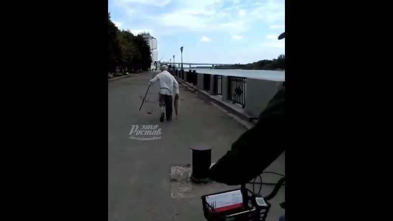 крупный улов на набережной - 12.09.19 - Это Ростов-на-Дону!