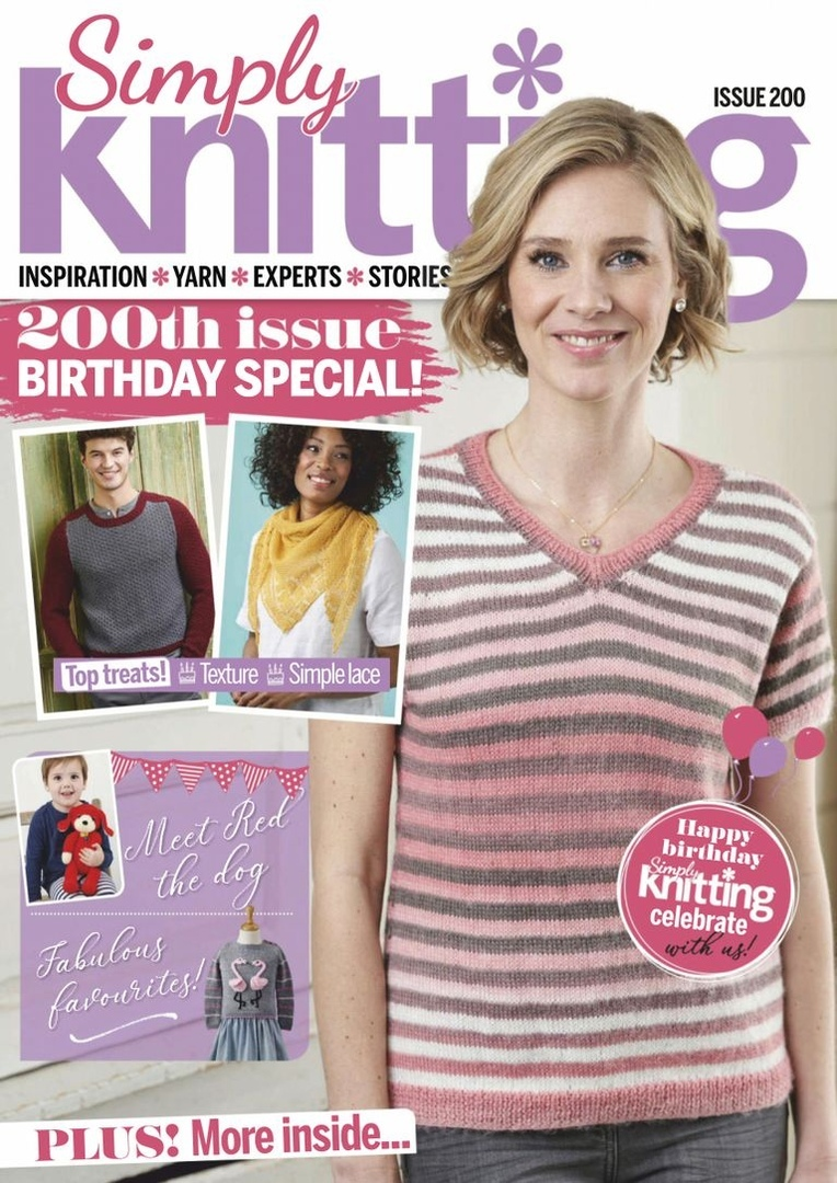 Simply Knitting – August 2020