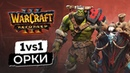 WarCraft 3 Reforged 1на 1 Орк Бета Варкрафт 3 Рефордж