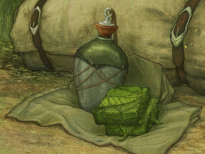 Эльфийский дорожный хлеб, изображение №1