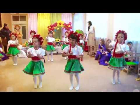 Танець Маленьких Українок. Калина. Свято Осені 2017. Кульчики ТВ