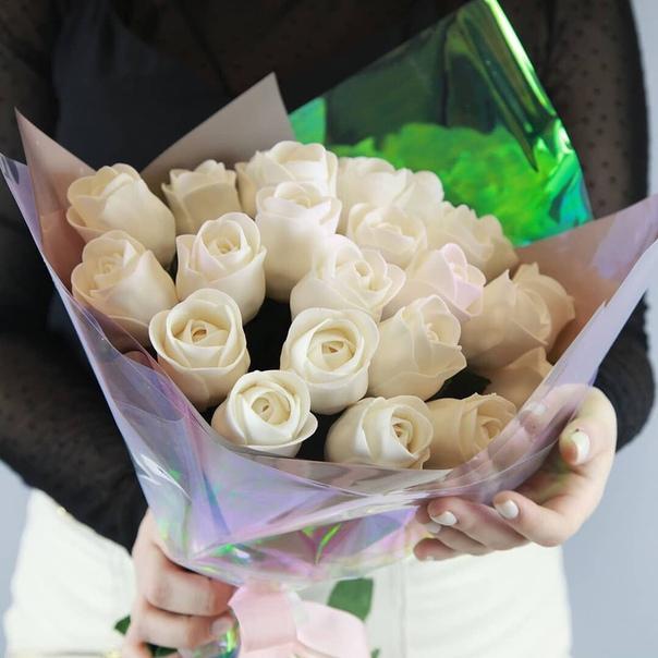 выдачи необходимой букет роз без мастики фото них должно