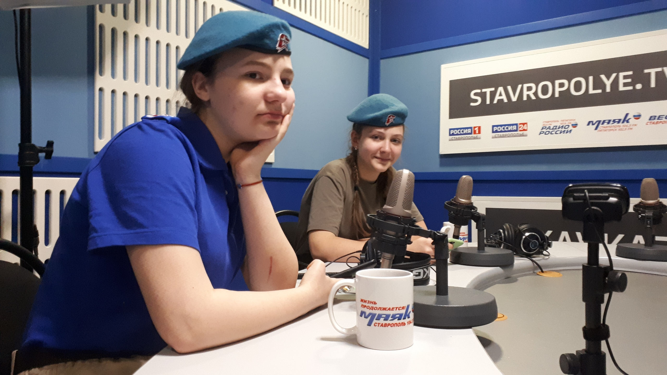 """Прямой эфир в студии """"Радио России"""""""