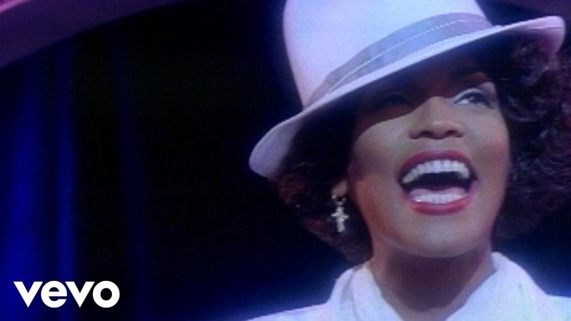 Whitney Houston - Im Your Baby Tonight (European Version) (Official Video)