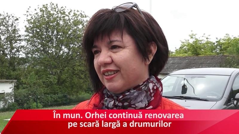 Renovarea străzii Vasile Lupu din Orhei
