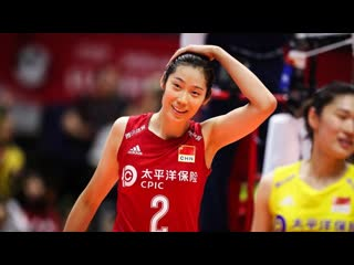 Zhu Ting  Amazing Volleyball Actions MVP of World Cup 2019 (HD)