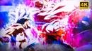 4K Goku Mastered Ultra Instinct Full Power Vs Jiren Full Power Fight ULTRA HD
