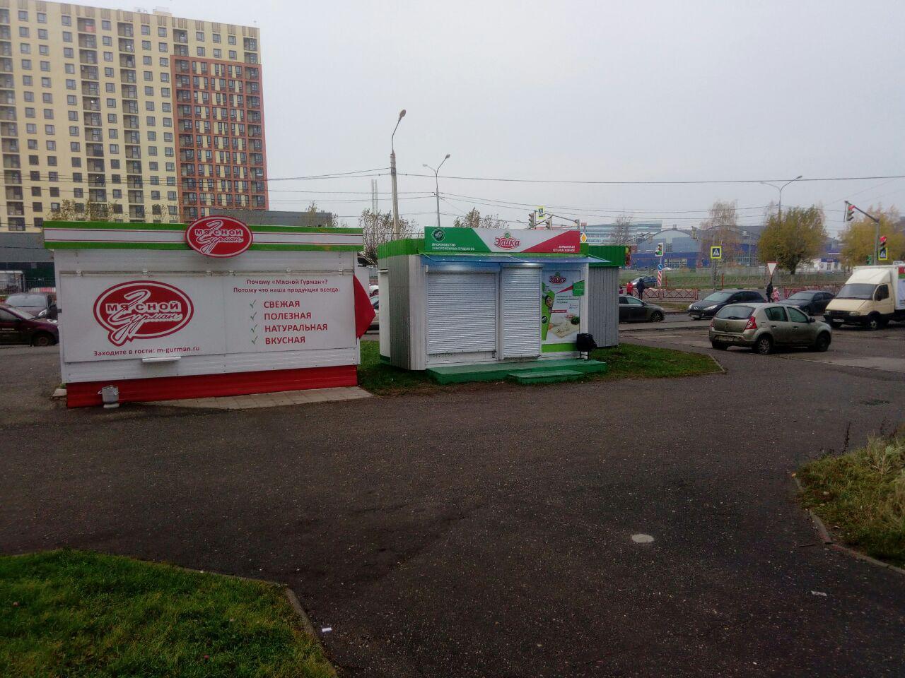 Мэрия Ярославля борется с незаконными ларьками на землях ТСЖ