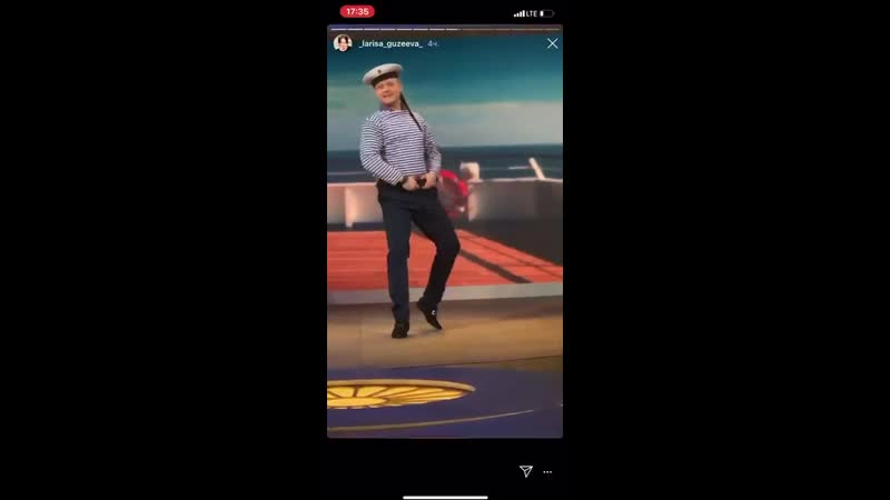 Ларису Гузееву очаровал танец новосибирского юриста