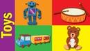 Toys English Words   Toys Vocabulary   Fun Kids English