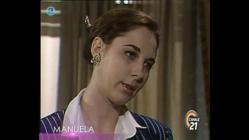 🎭 Сериал Мануэла 189 серия, 1991 год, Гресия Кольминарес, Хорхе Мартинес