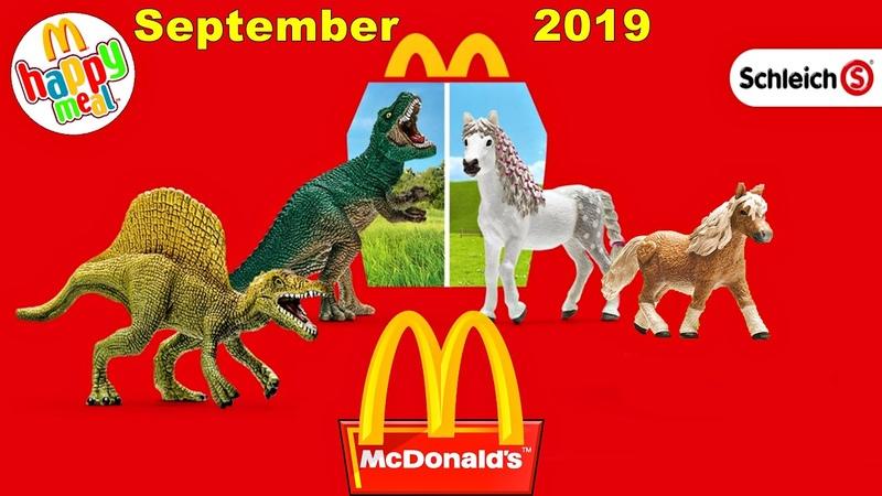 New McDonald's Happy Meal sept 2019 Original Schleich® figures