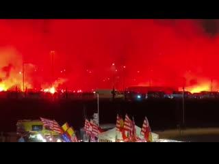 Огненная встреча Атлетико перед игрой с Ливерпулем (2020)