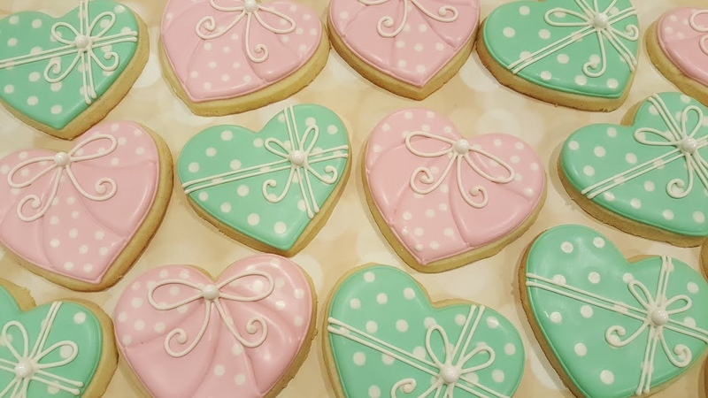 Valentine Sugar Cookies on Kookievision by Sweethart Baking Experiment