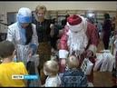 Новогодний десант Вестей провел елку в 1-ой детской больнице