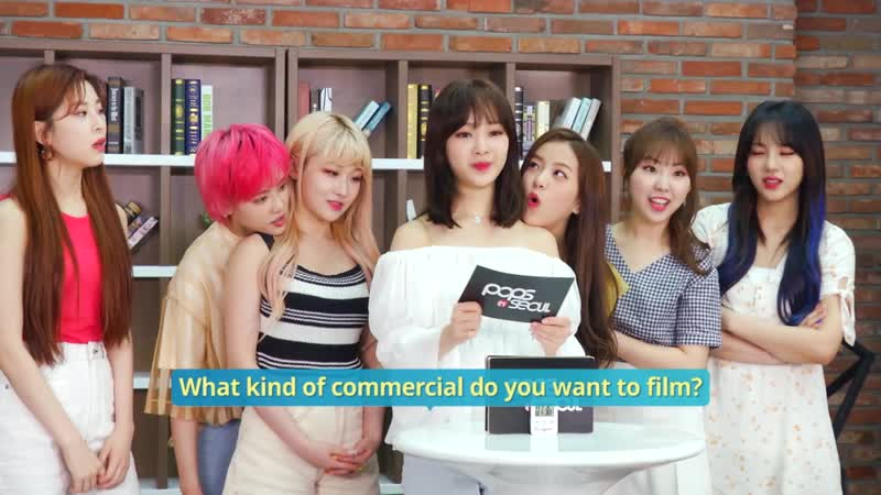 An Up-and-Coming Group! Girls in the Park(공원소녀)s Interview for RED-SUN @ Arirang Pops in Seoul 190812