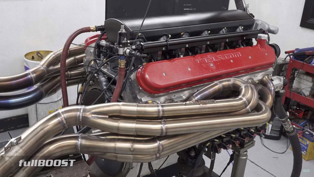 В Сети продемонстрировали как рычит атмосферный 95-литровый агрегат V12