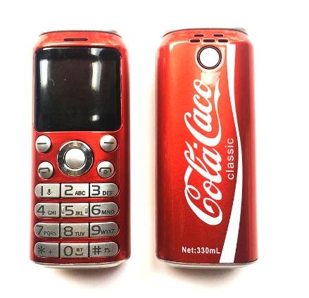 Телефон в виде баночки кока-кола