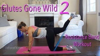 Glutes Gone Wild 2: Resistance Band Workout for Legs & Booty #buttlift #brazillianbuttworkout