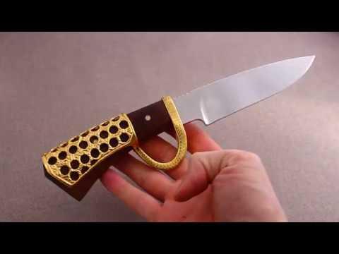 Авторский нож Корсар от Златоустовского мастера