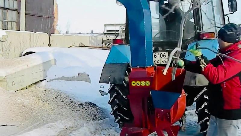 Утилизатор У 650 на базе ВОМ МТЗ 80 82