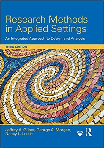 Research Methods in Applied Settings, 3rd Edition