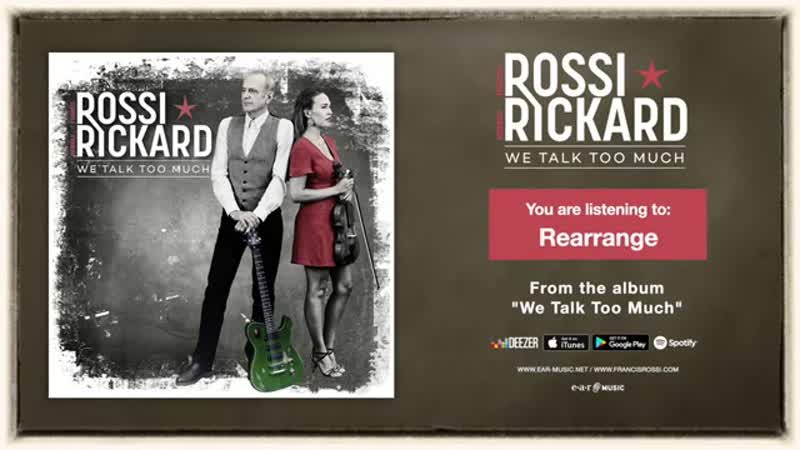 Francis Rossi Hannah Rickard Rearrange Official Song Stream new album out no