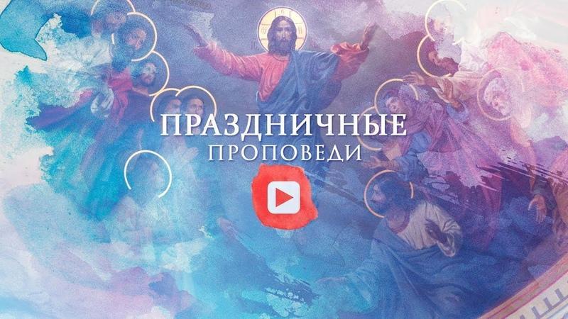 Проповедь в праздник Вознесения Господня 28 мая 2020