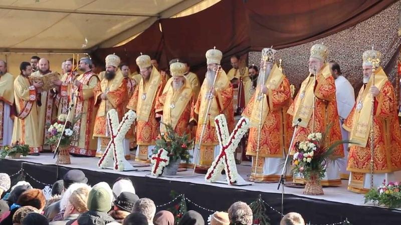 Evanghelia Protodiacon Ioan Ardelean Pestera Sf Apostol Andrei 'Mitropolia Dobrogei' Constanta 2013