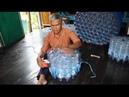 ALFA GAMA Membuat kursi dan meja dari botol TUTORIAL MAKE CHAIRS FROM BOTTLE
