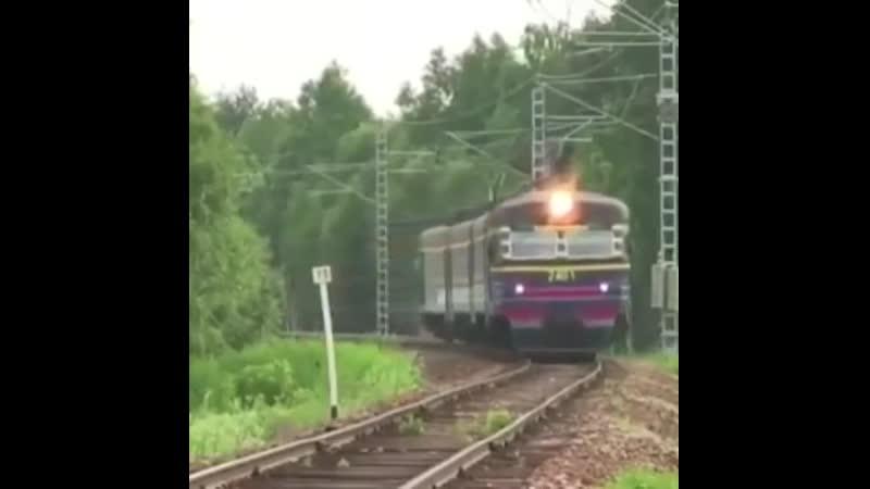 Туса в поезде