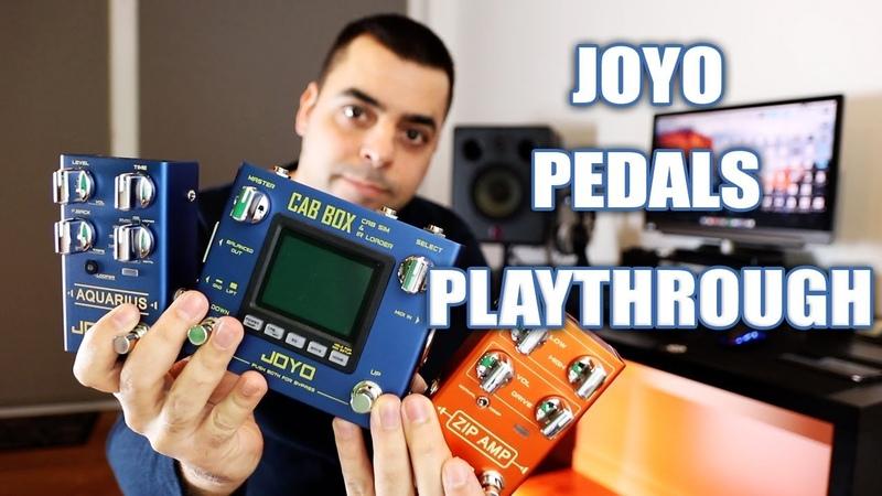 JOYO R-Series Pedals | Playthrough
