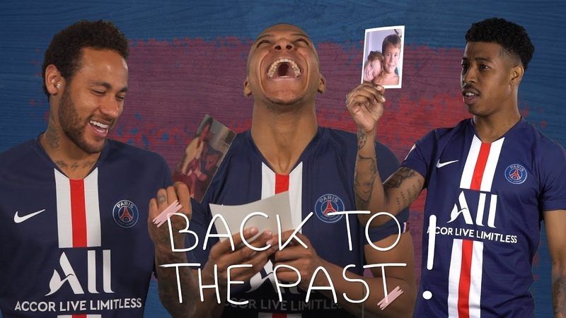 BACK TO THE PAST EP1 with Neymar Jr, Mbappe, Kimpembe
