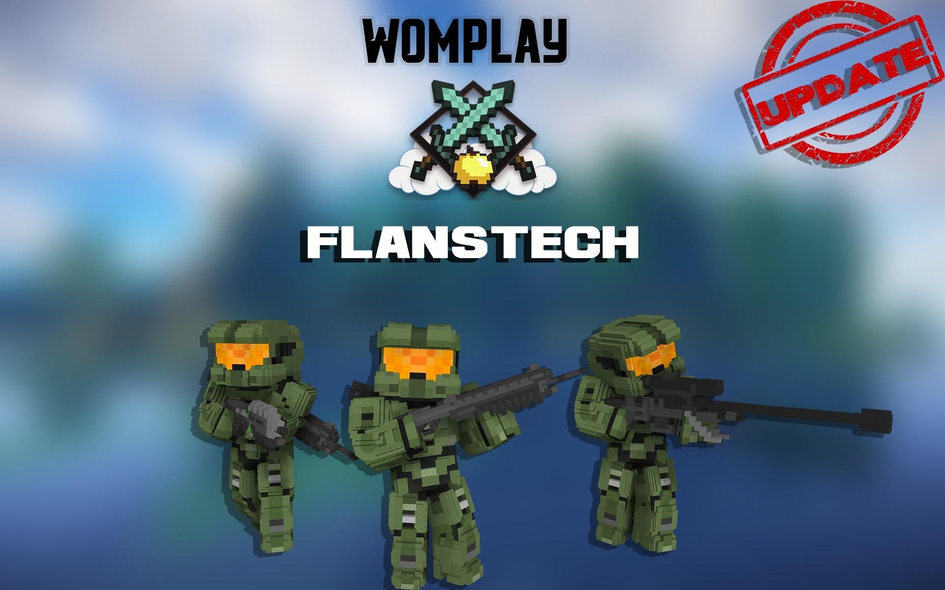 FlansTech - Открыт и обновлен