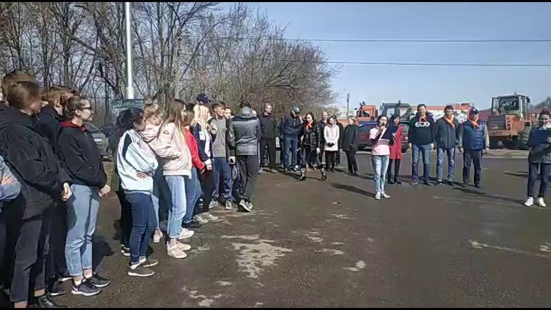 Акция Зелёная Башкирия экологический субботник в лесопарковой зоне Баланово