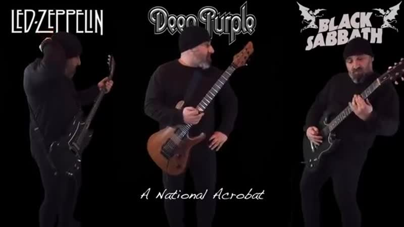 Led Zeppelin VS Deep Purple VS Black Sabbath (Guitar Riffs Battle)