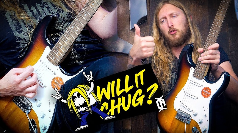 WILL IT CHUG Squier Bullet Stratocaster