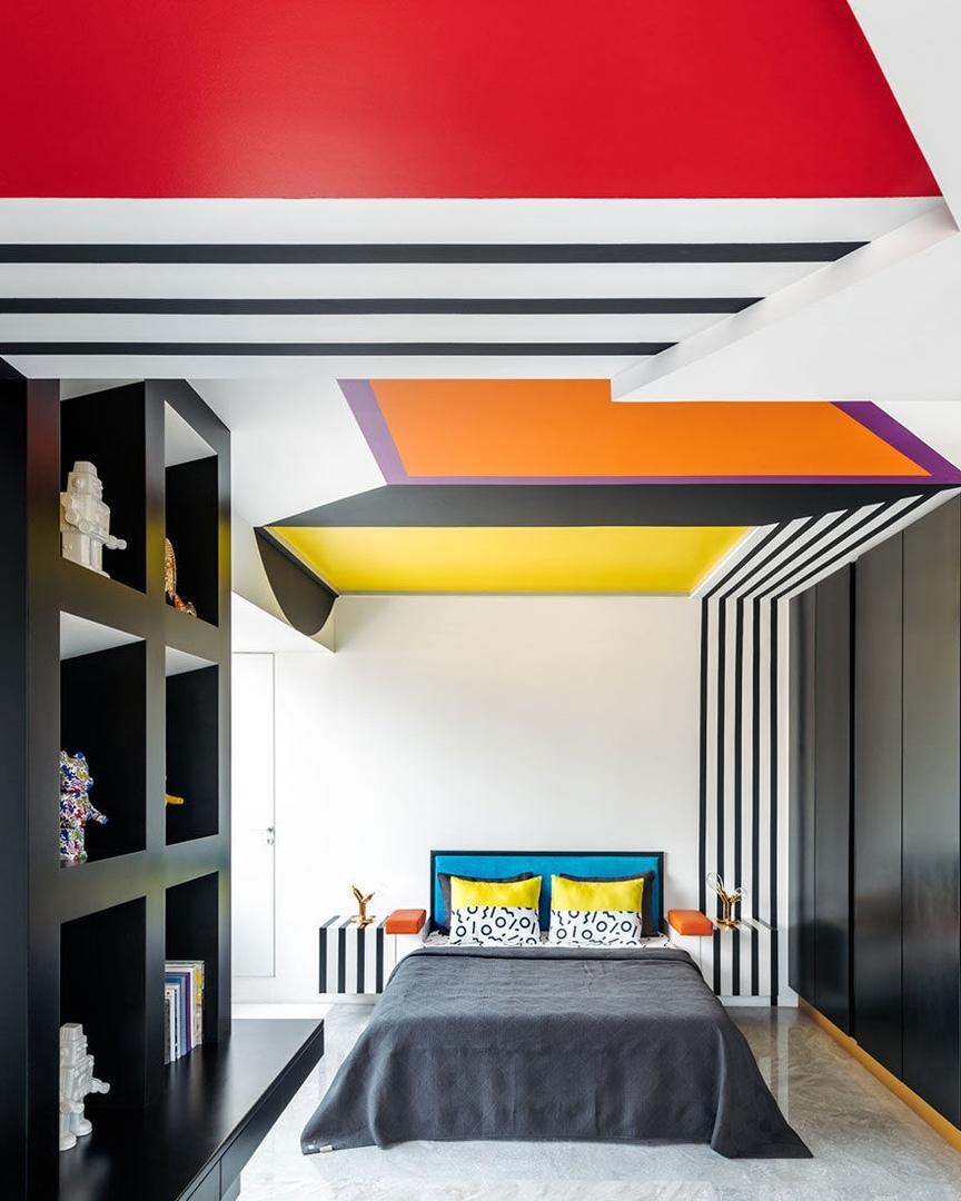Джаннат Васи: квартира в Мумбае в стилистике поп-арта || 01