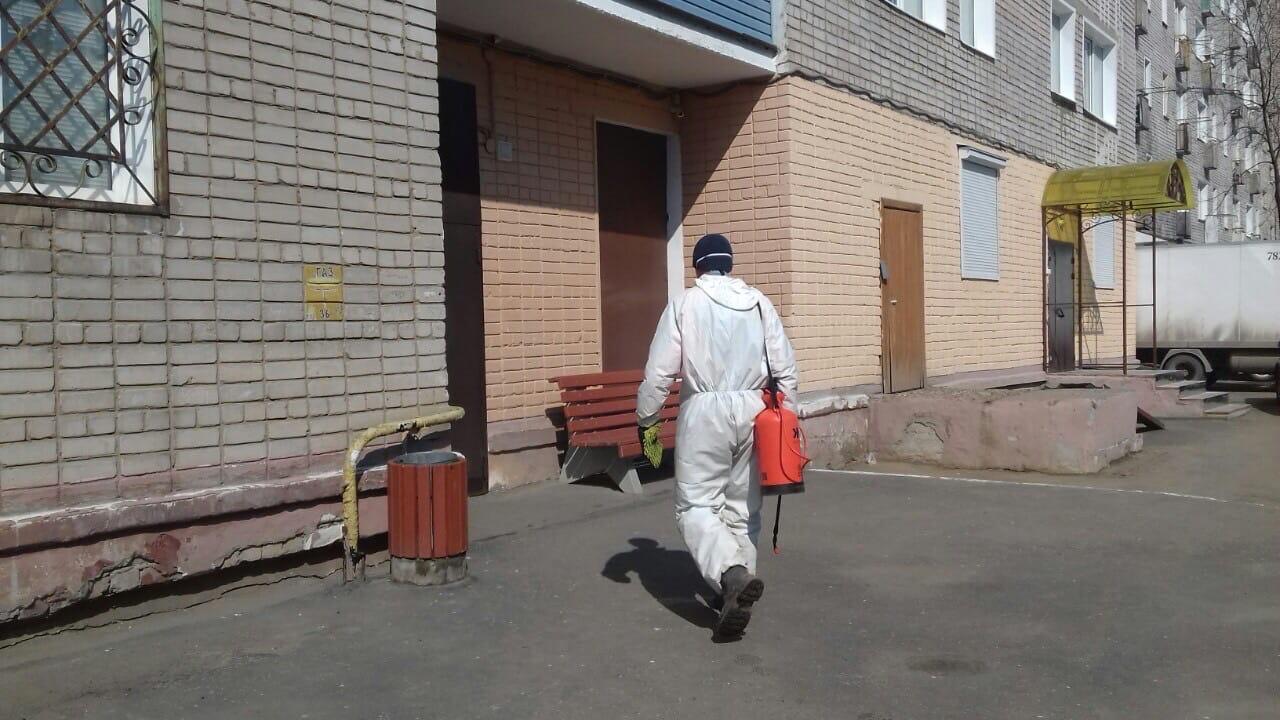 Улица Лепсе дом 58 корпус 2 дезинфекция