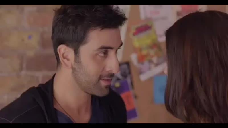 Анушка Шарма и Ранбир Капур › Ae Dil Hai Mushkil › забавный момент