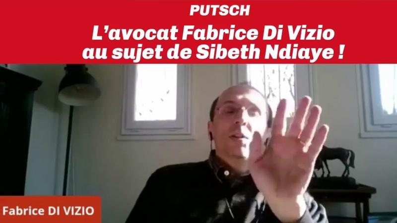 La charge de l'avocat Fabrice Di Vizio contre Sibeth Ndiaye porte parole du gouvernement