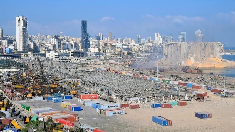 Οι εκρήξεις που συγκλόνισαν τη Βηρυτό