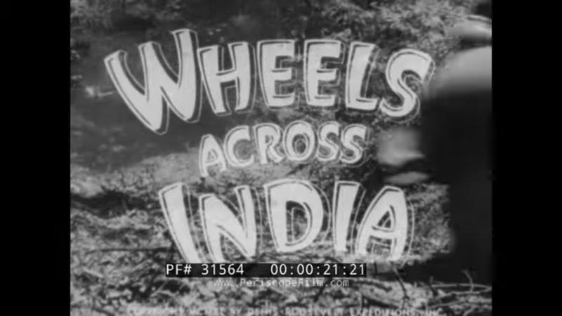 WHEELS ACROSS INDIA 1940 ARMAND DENIS LEILA ROOSEVELT ASIATIC EXPEDITION DODGE TRUCKS 31564