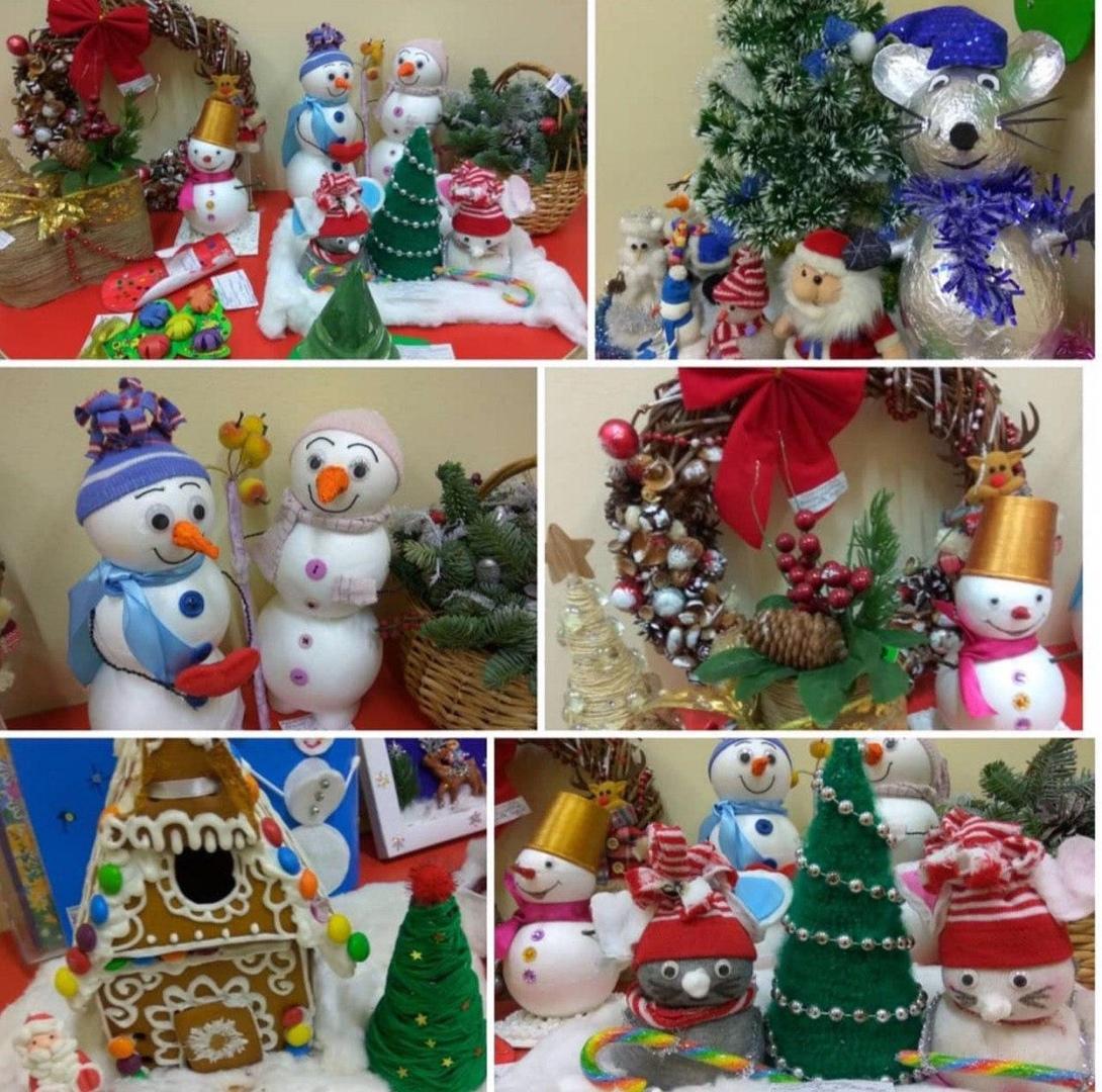 Выставка поделок «Новогоднее чудо» состоялась в школе № 2089
