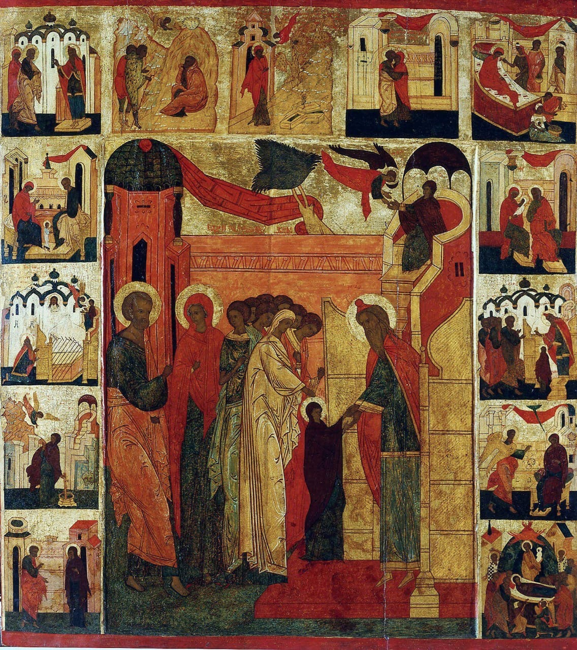 4 ДЕКАБРЯ - ВВЕДЕНИЕ ВО ХРАМ ПРЕСВЯТЫЯ БОГОРОДИЦЫ ПРИСНОДЕВЫ МАРИИ